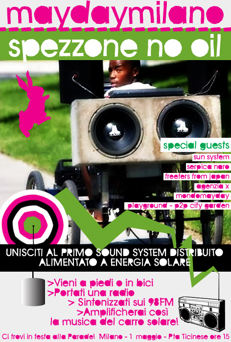 flyer mayday nooil 2009
